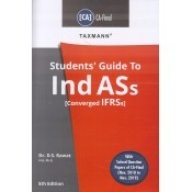 Taxmann's Guide to Ind ASs Converged IFRSs for CA Final May 2020 Exam (New Syllabus) by Dr. D. S. Rawat