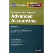 Taxmann's Scanner Cum Compiler on Advanced Accounting for CA Inter May 2020 Exam [New Syllabus] by CA. Praveen Sharma, CA. Kapileshwar Bhalla