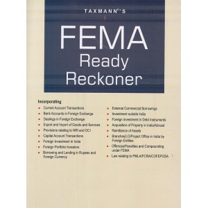 Taxmann's FEMA Ready Reckoner 2020 | Foreign Exchange Management Act