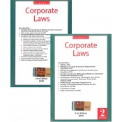 Taxmann's Corporate Laws (Set of 2 volumes - Pocket Edition)