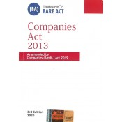 Taxmann's Bare Act on Companies Act [Pocket]