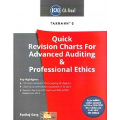 Taxmann's Quick Revision Charts For Advanced Auditing and Professional Ethics for CA Final May 2020 Exam [Old/New Syllabus] by CA. Pankaj Garg