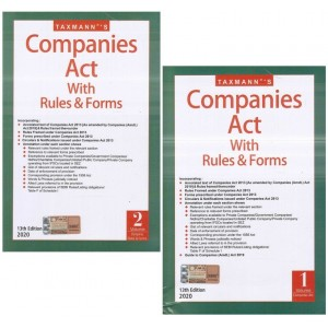 Taxmann's Companies Act, 2013 with Rules & Forms