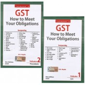 Taxmann's GST How to Meet Your Obligations by S. S. Gupta (2 Vols.)
