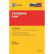 Taxmann's Cracker on Company Law for CS Executive June 2020 Exam [New Syllabus] by N. S. Zad