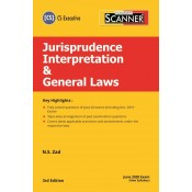 Taxmann's Cracker on Jurisprudence Interpretation & General Laws for CS Executive June 2020 Exam by N. S. Zad [New Syllabus]