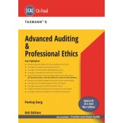 Taxmann's Advanced Auditing & Professional Ethics for CA Final November 2020 Exam (New Syllabus) by CA. Pankaj Garg