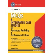 Taxmann's MCQs & Integrated Case Studies on Advanced Auditing & Professional Ethics for CA Final November 2020 Exam [New Syllabus] by CA. Pankaj Garg