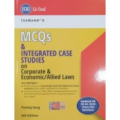 Taxmann's MCQs and Integrated Case Studies on Corporate & Economic / Allied Laws for CA Final November 2020 Exam [Old & New Syllabus] by CA. Pankaj Garg