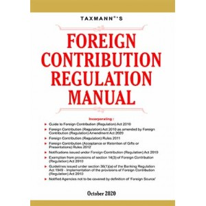 Taxmann's Foreign Contribution Regulation Manual 2020