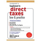 Taxmann's Supplement to Direct Taxes Law & Practice by Vinod K Singhania & Kapil Singhania