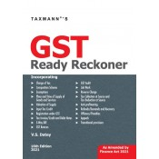 Taxmann's GST Ready Reckoner 2021 by V. S. Datey