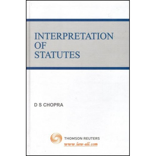 D. S. Chopra's Interpretation of Status by Thomson Reuters (1st Edition, 2014)