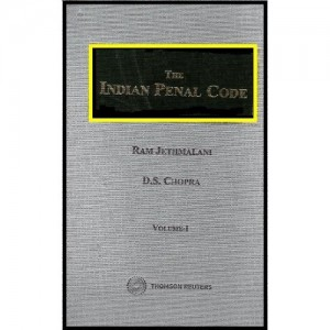 Thomson Reuters Indian Penal Code [HB] (Set of 2 Volumes) by Ram Jethmalani & D.S.Chopra