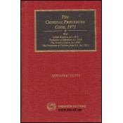 Thomson Reuters Pocket Handbook on The Criminal Procedure Code, 1973 (Cr.P.C) by Shrinivas Gupta