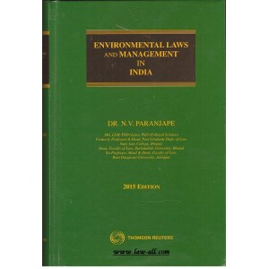 Thomson Reuters Environmental Laws and Management in India by Dr. N. V. Paranjape