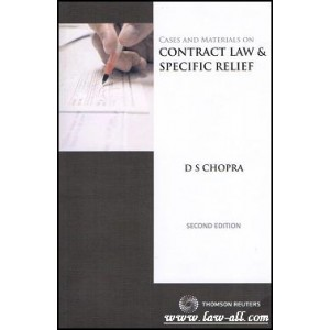 Cases and Materials On Contract Law & Specific Relief [PB] | Prof. D. S. Chopra | Thomson Reuter