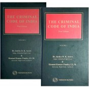 Thomson Reuter's The Criminal Code of India by Dr. Justice D. K. Arora & Hemant Kumar Pandey [2 HB Volumes]