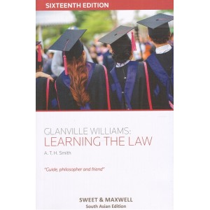 Sweet & Maxwell's Glanville Williams : Learning the Law by A.T.H. Smith