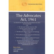 Thomson Reuters The Advocates Act, 1961 [Bare Acts with Comment]