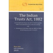 Thomson Reuters The Indian Trusts Act, 1882 [Bare Acts with Comment]