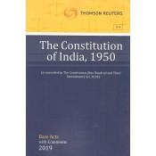 Thomson Reuters The Constitution of India, 1950 [Bare Acts with Comment]