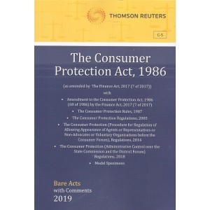 Thomson Reuters The Consumer Protection Act, 1986 [Bare Acts with Comment]
