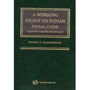 Thomson Reuters A Working Digest on Indian Penal Code [IPC- HB] by Bharat P. Maheshwari