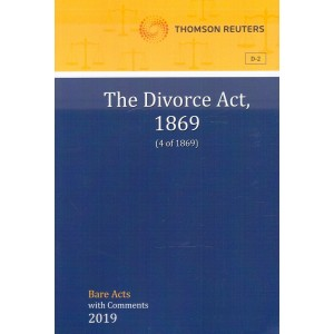 Thomson Reuters The Divorce Act, 1869 [Bare Acts with Comments]