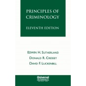 Universal's Principles of Criminology For B.S.L & L.L.B by Edwin H. Sutherland