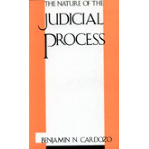 The Nature of the Judicial Process by Benjamin N. Cardozo For LL.M, Universal Law Publishing Co.