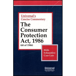 Universal's Concise Commentary on The Consumer Protection Act, 1986