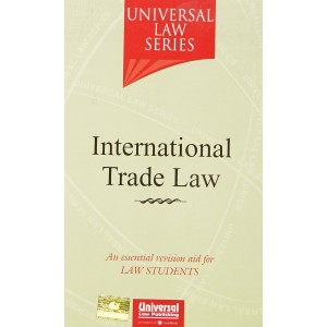 Universal Law Series's Textbook on International Trade Law by Dr. Dinesh  Sabat