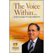 The Voice Within...Social Messages through Judgments by Justice Kailash Gambhir | Universal Law Publishing