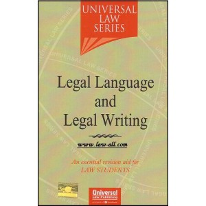 Universal Law Series on Legal Language and Legal Writing by Dr. Dinesh Sabat