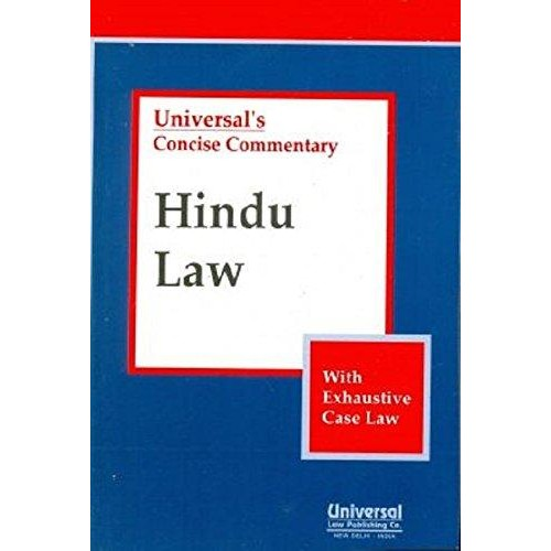 Universal's Concise Commentary Hindu Law For BSL & LLB