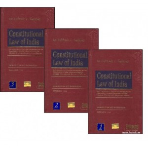 Constitutional Law of India (Set of 3 Vol.) | Dr. Subhash C. Kashyap | Universal Law Publishing