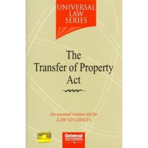 Universal Law Series's The Transfer of Property Act For Law Students by Himanshi Mittal