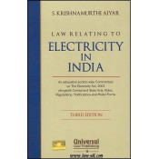 Universal's Law Relating to Electricity in India [HB] by S. Krishnamurthi Aiyar
