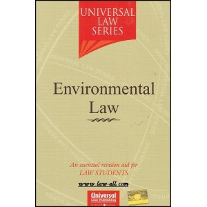 Universal Law Series on Environmental Law for BSL & LL.B by Dr. Dinesh Sabat