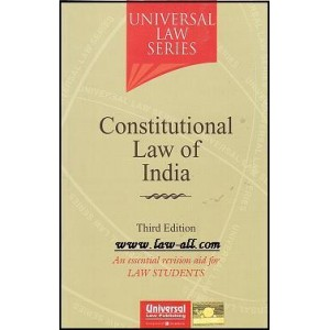 Universal Law Series's Constitutional Law of India for BSL & LL.B by Himanshi Mittal