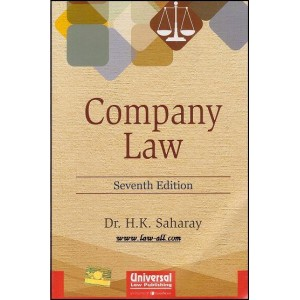Universal's Company Law by Dr. H. K. Saharay
