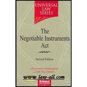 Universal Law Series on The Negotiable Instruments Act for BSL & LL.b by Himanshi Mittal