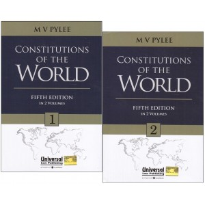 Universal's Constitutions of the World by M. V. Pylee [2 HB Vols]