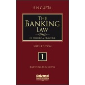 Universal's The Banking Law in Theory and Practice [3 HB Vols] by S. N. Gupta, Rajesh Narain Gupta