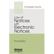Universal's Law of Notices with Electronic Notices by Dr. Rajesh Gupta