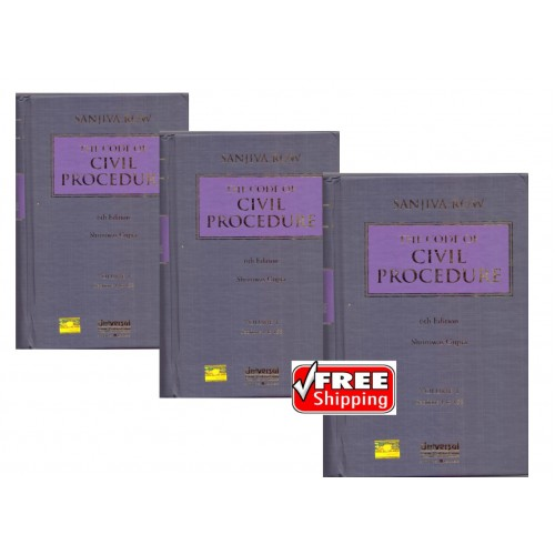 Universal's Code of Civil Procedure by Sanjiva Row & Shriniwas Gupta [3 HB Vols]