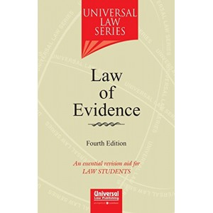 Universal Law Series on Law of Evidence for BSL & LL.B by Vibha Arora, Vaibhav Arora