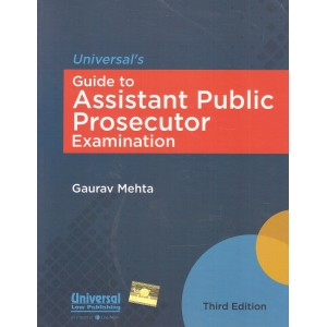 Universal's Guide to Assistant Public Prosecutor Examination [APP 2018] by Gaurav Mehta