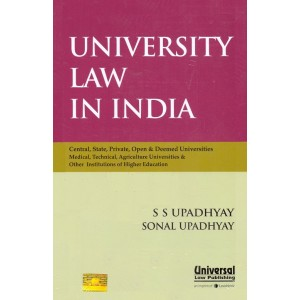 Universal's University Law in India [HB] by S. S. Upadhyay, Sonal Upadhyay